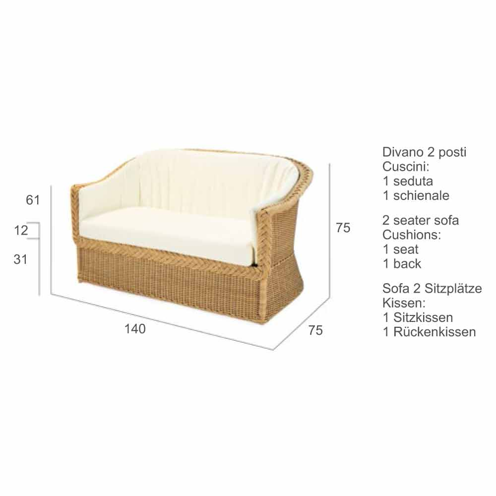 Cuscini Beige Per Divano 2 sits soffa från polyeten trädgård handgjorda jonny