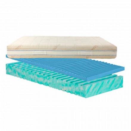 Löstagbar madrass kvadrat och en halv och kvalster Bio Nature