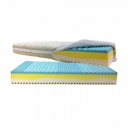 Dubbel madrass liggsår och kvalster löstagbar Bio 3