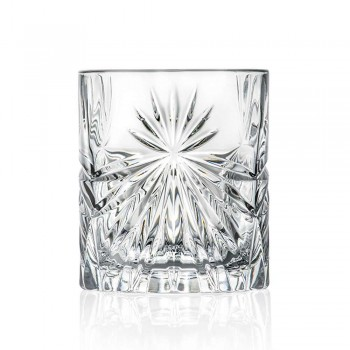 12 dubbla gammaldags glasögon i Eco Crystal Design - Daniele