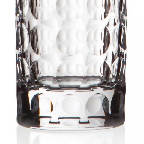12 Highball-glasögon för läsk eller långa drycker i Eco Crystal - Titanioball