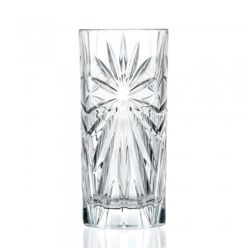 12 Highball Tumbler Tall Cocktailglasögon i Eco Crystal Design - Daniele