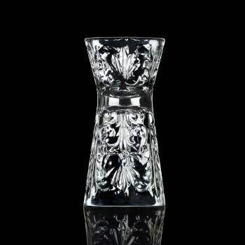 12 lyxiga dekorerade glasögon i ekologisk kristall - öde