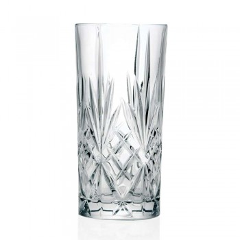 12 Tumbler Alto Highball-glasögon för cocktail i Eco Crystal - Cantabile
