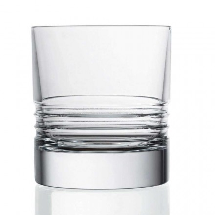 12 tumlare dubbla gammaldags kristall whiskyglasögon - arytmi