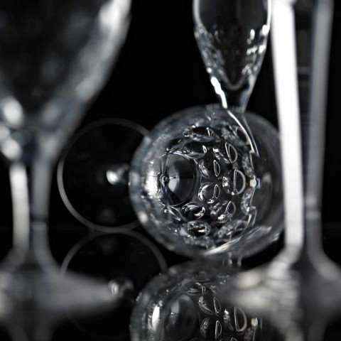 12 ölglas i ekologisk kristalldekorerad lyxig design - Titanioball