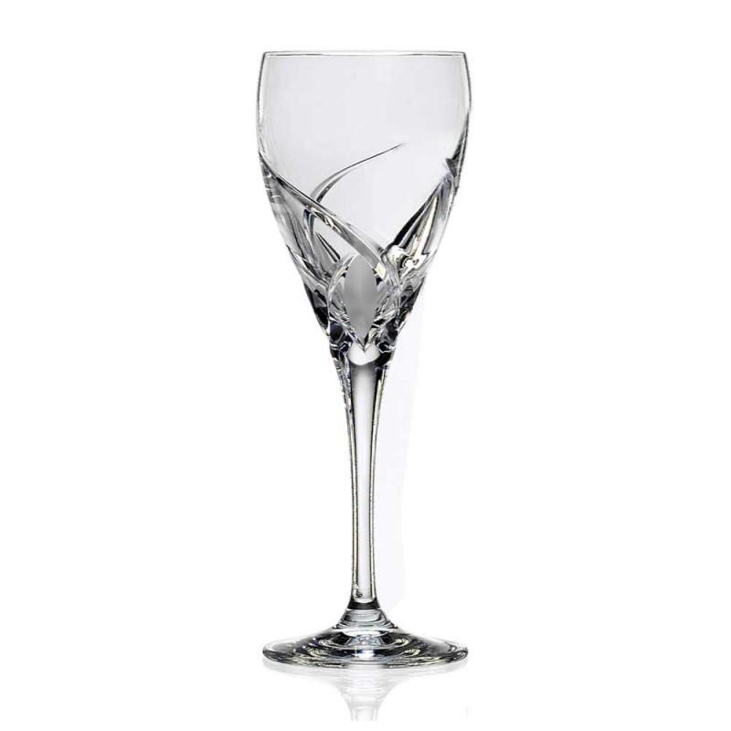 12 glas för vitt vin i ekologisk kristall lyxdesign - Montecristo