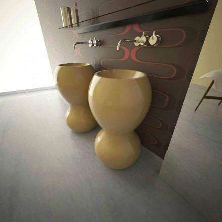 Ariel modernt design sänkt diskbänk, tillverkat i Italien