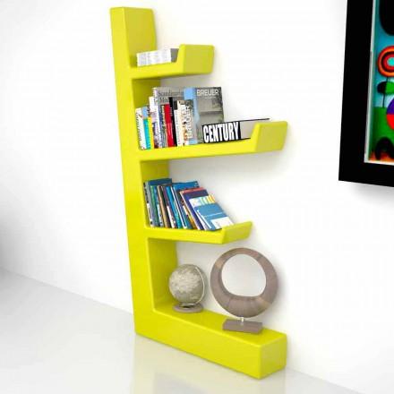Solid design bokhylla i Solid Surface Austen, tillverkad i Italien