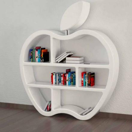 Gluttony röd, vit eller grå modern design bokhylla