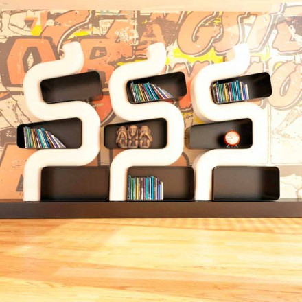Samtida Solid Design bokhylla Ser P gjord i Italien