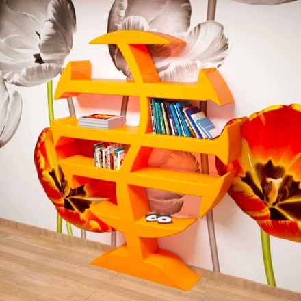 Stevenson moderna bokhylla handgjorda i Italien