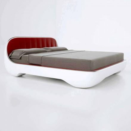 Lyxig Modern Design Dubbelsäng Avantgarde Gjord i Italien
