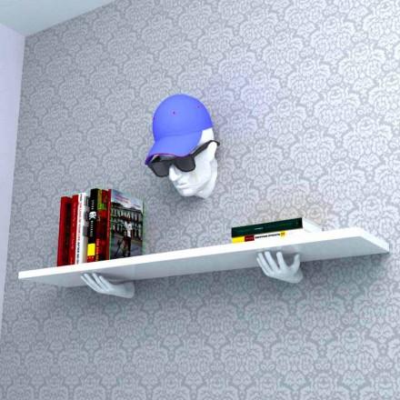 Modern designhylla av Vladimir gjord i Italien