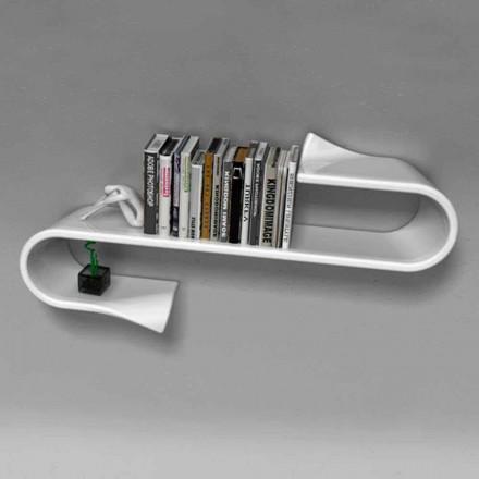 Modern designhylla Waveshelf Viadurini Design gjord i Italien
