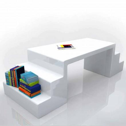 Modernt skrivbord i vitt, grönt eller Abbott moka