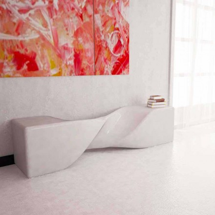 Modern designbänk Bobby Made i Italien