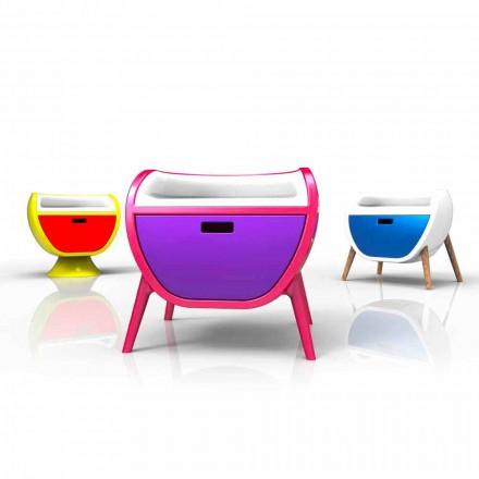 Moderna Sängbord Design Gauche Made in Italy