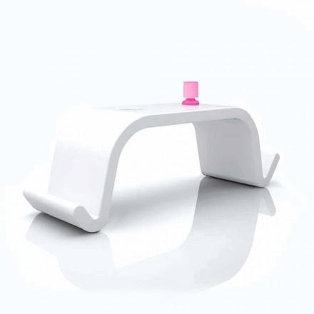 Acton modern design kontorsbord, svart eller vitt