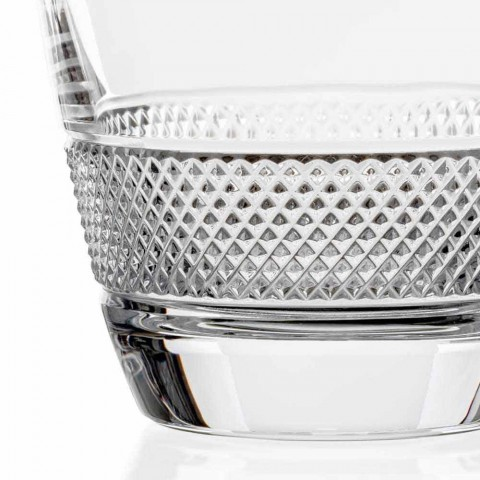 2 whiskyflaskor dekorerade i ekologisk kristall elegant design - Milito