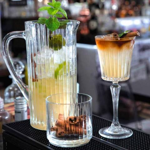 2 kannor vatten och drycker i dekorerad lyxig design med ekokristall - Senzatempo