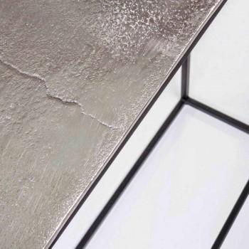 2 Konsol i stål Industriell stil Modern design Homemotion - Sesam