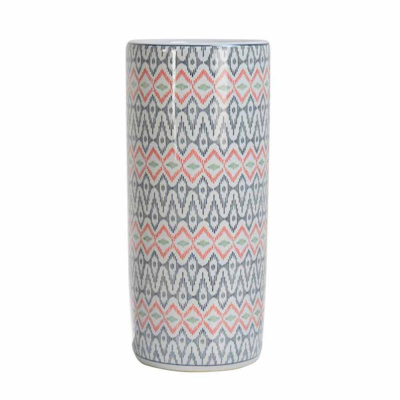 2 porslinparaplyställ dekorerat med Homemotion-dekal - Nando