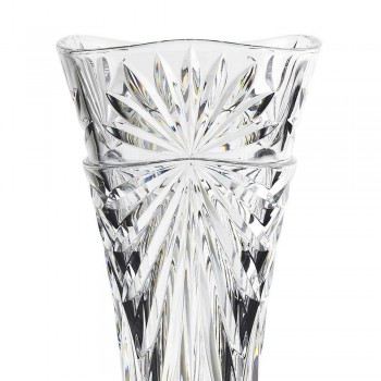2 bordsdekorationsvaser i unik design ekologisk kristall - Daniele