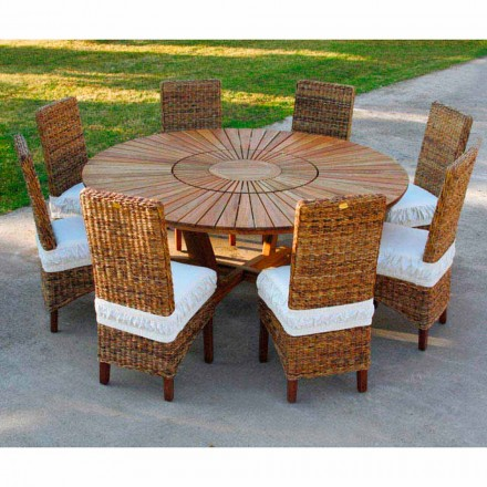 Real Table Round Table Outdoor