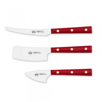 3 Berti ostknivar i rostfritt stål exklusivt för Viadurini - Asiago