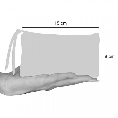 3 handtryckta bomullskopplingar i unika stycken - Viadurini av Marchi