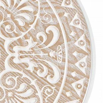 3 kaffebord i Mdf med Homemotion Inlagda dekorationer - Mariam