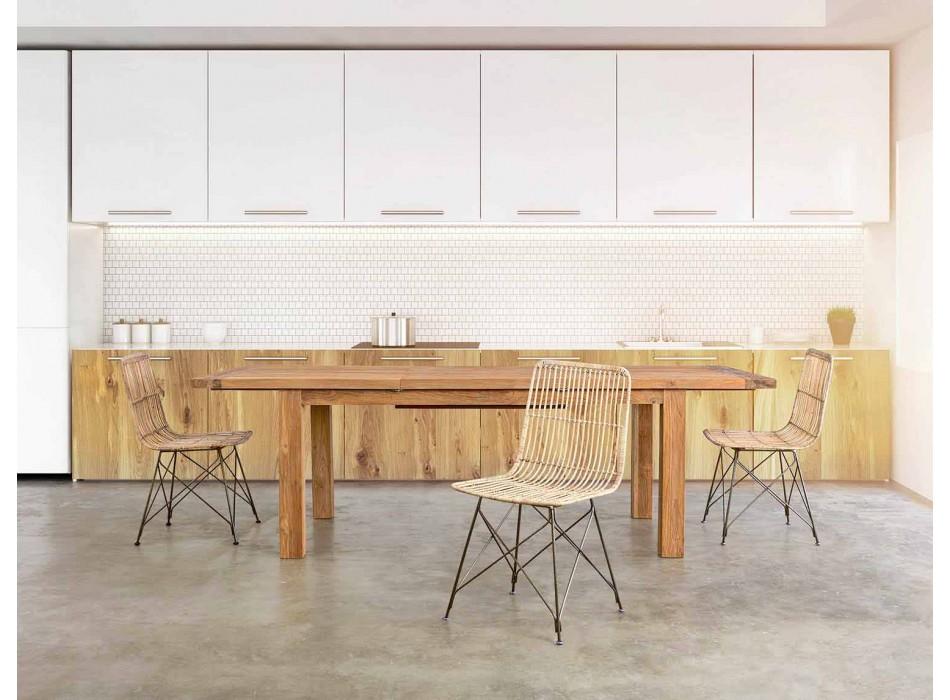 4 matsalsstolar i stål och väv av Kubu Homemotion - Kendall