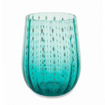 6 färgade och moderna glasögon för vatten Elegant Service - Persien