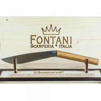 6 Ergonomiska biffknivar med stålblad Tillverkad i Italien - Haj