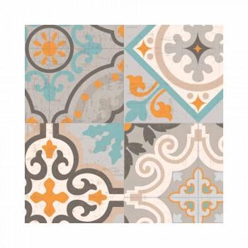 6 eleganta rektangulära mönstrade amerikanska placemats - Frisca
