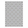 6 rektangulära placemats i Pvc och polyester med mönstrad design - Berimo