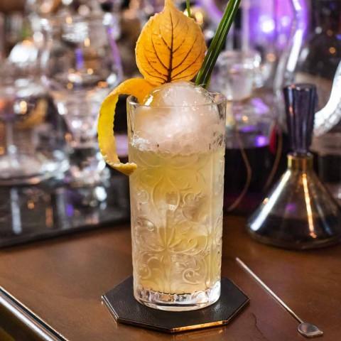 8 Highball Tumbler Tall Glasses för cocktail i Eco Crystal - Malgioglio