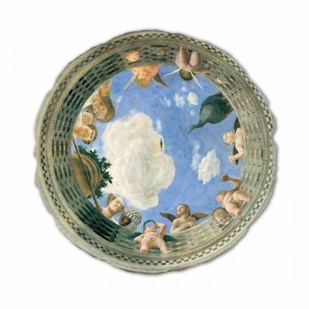 """Fresco Andrea Mantegna """"Oculus med Cherubs och Dame utsikt"""""""