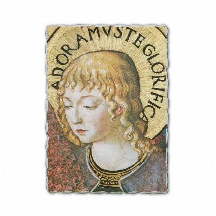 """Fresco Benozzo Gozzoli """"körer av änglar i tillbedjan"""" -1454"""