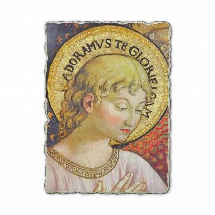 """Fresco Benozzo Gozzoli """"körer av änglar i tillbedjan"""""""