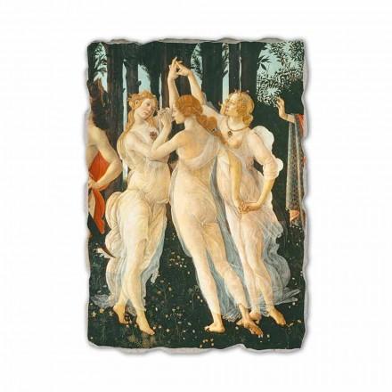 """Botticelli fresco """"Allegori av Spring"""" - detalj"""