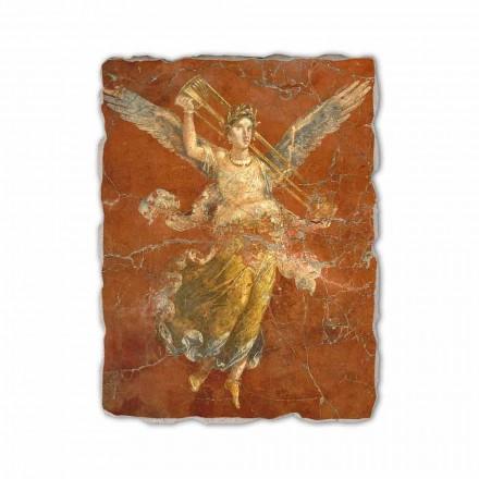 """Fresco handgjorda i Italien Roman """"Cykel av musorna"""""""
