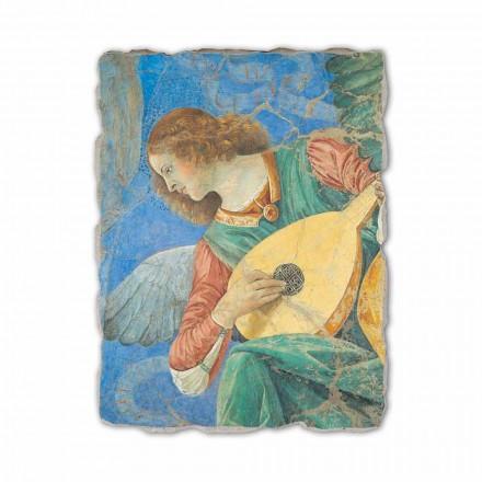 "Fresco handgjorda Melozzo da Forlì ""Ängelmusiker"""
