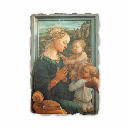 "Fresco gjort i italienska Filippo Lippi s ""Madonna och barn"""