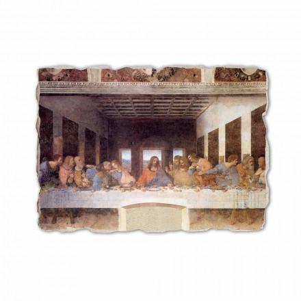 "Fresco gjort i Italien Leonardo da Vincis ""Nattvarden"""