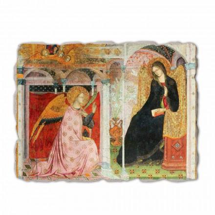 """Fresco Friar Ilario från Viterbo """"Bebådelsen"""" särskilt"""