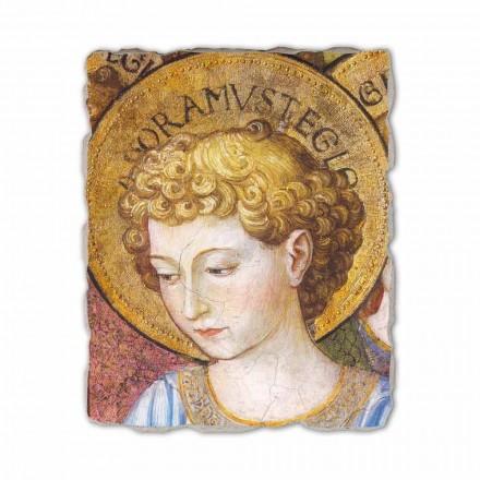 """Gozzoli fresco """"körer av änglar i tillbedjan"""" - 1454 ca"""