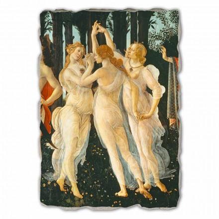 """stora fresk Botticelli """"allegori av våren"""" del."""