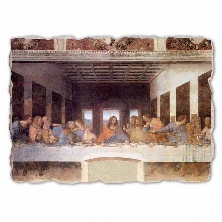 "stora fresk handgjorda Leonardo da Vincis ""Nattvarden"""